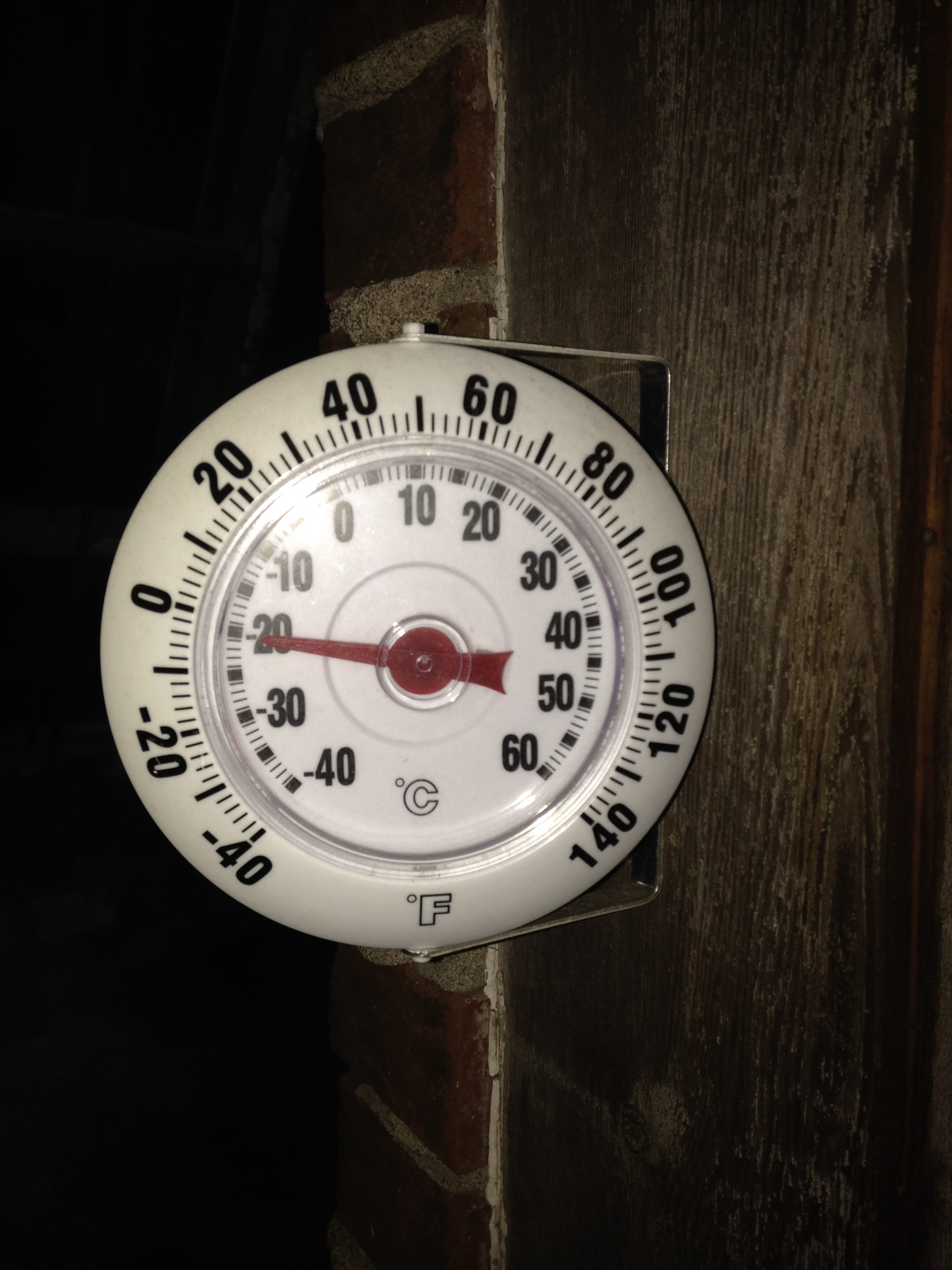 Cold, thermometer, winter