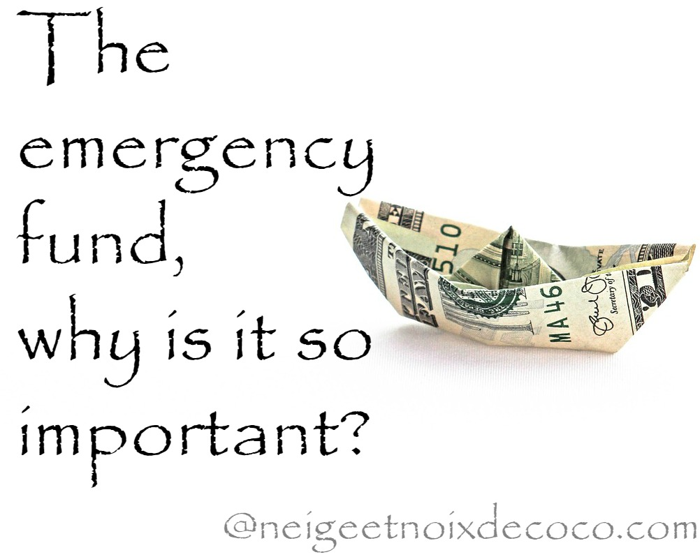 emergency fund, save some money, money